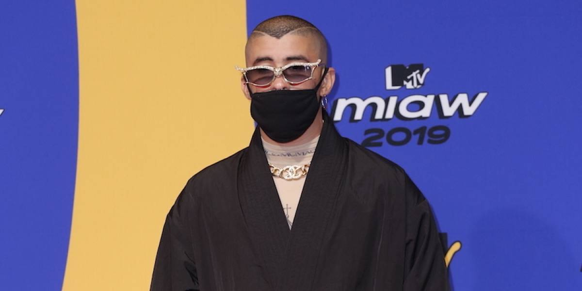 Bad Bunny la rompe en los MTV y gana como Artista MIAW 2019