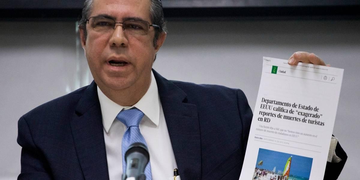 Dominicana: No es inusual la muerte de turistas