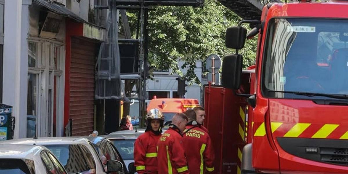 Incêndio em um prédio de Paris deixa 3 mortos