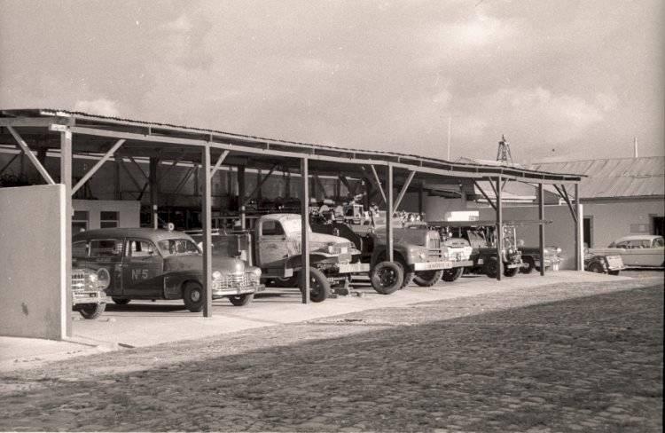 Archivo fotográfico de la Compañía de los Bomberos Voluntarios. Foto: Primera Compañía Bomberos Voluntarios