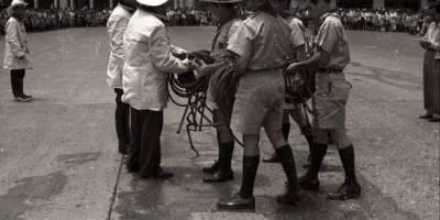 Archivo fotográfico de la Compañía de los Bomberos Voluntarios.