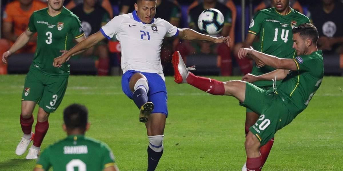 Brasil disputa com Peru 1º lugar do grupo A pela Copa América