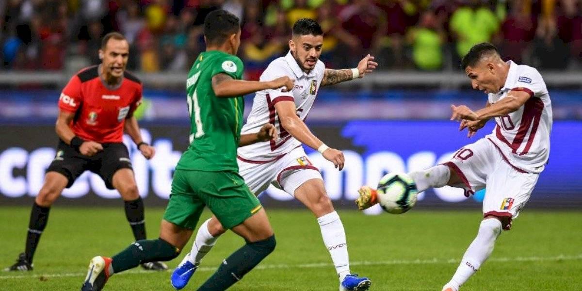 Venezuela despacha a Bolivia y se mete en cuartos de Copa América