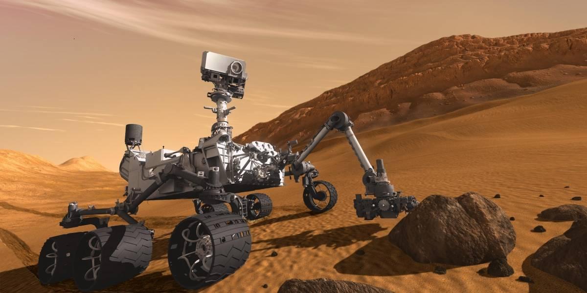 ¿Vida en Marte? El Rover Curiosity encuentra signos de vida marciana