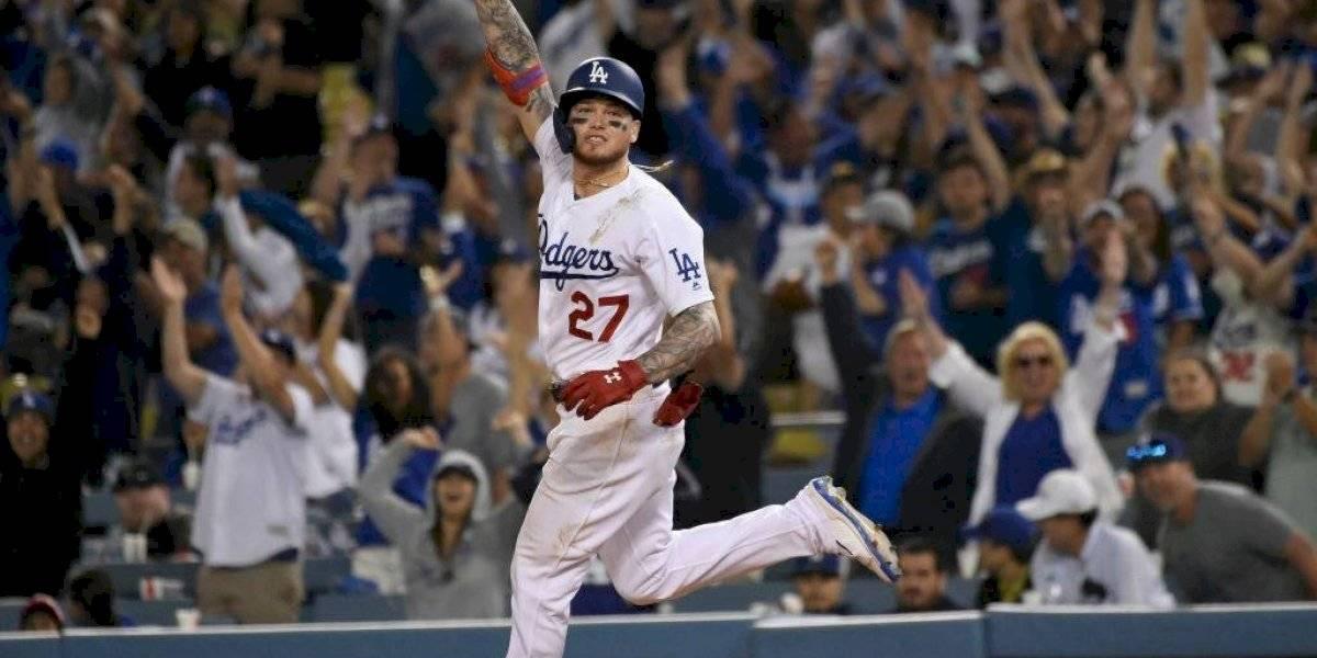 Jonrón de Alex Verdugo da el triunfo a Dodgers en 11 entradas