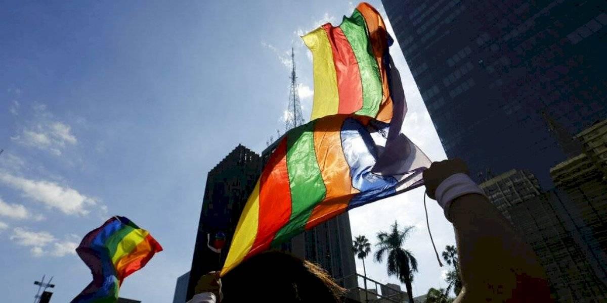Miles marchan en Brasil por los derechos de la comunidad LGBT+