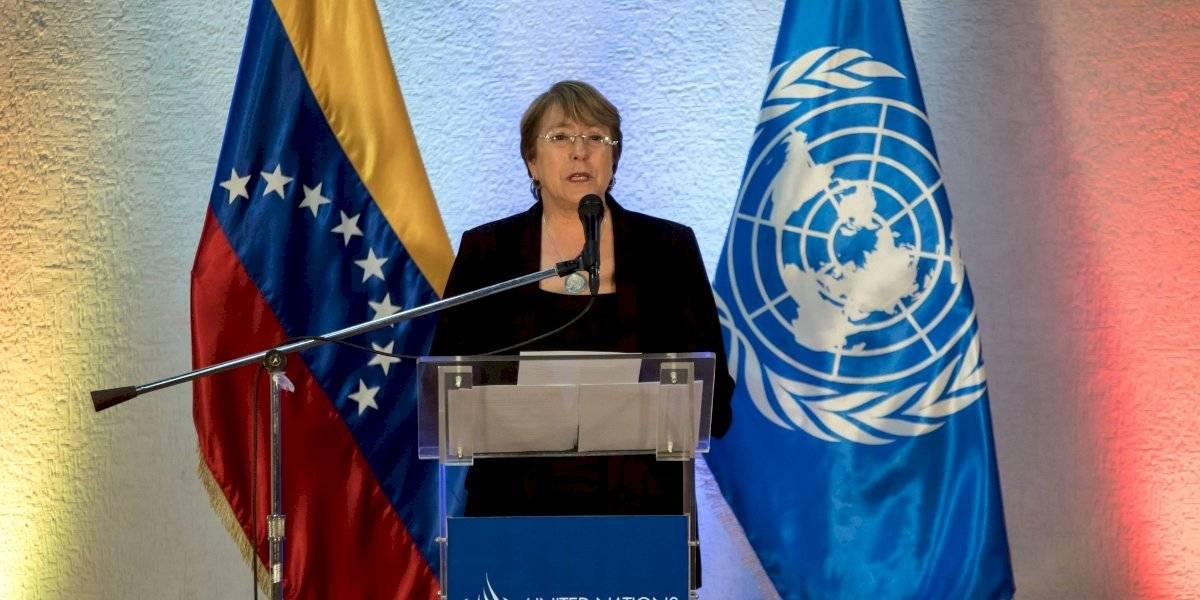 Expectación por el informe que entregará Bachelet sobre su visita a Venezuela