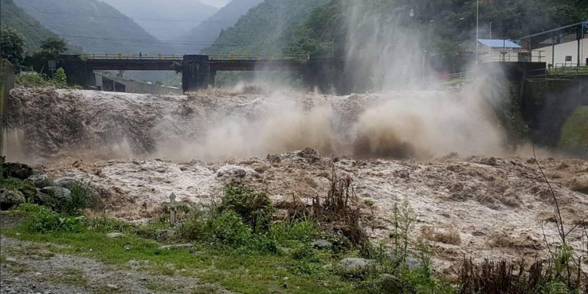 Baños: Una persona fallecida y 145 evacuadas tras crecida de ríos