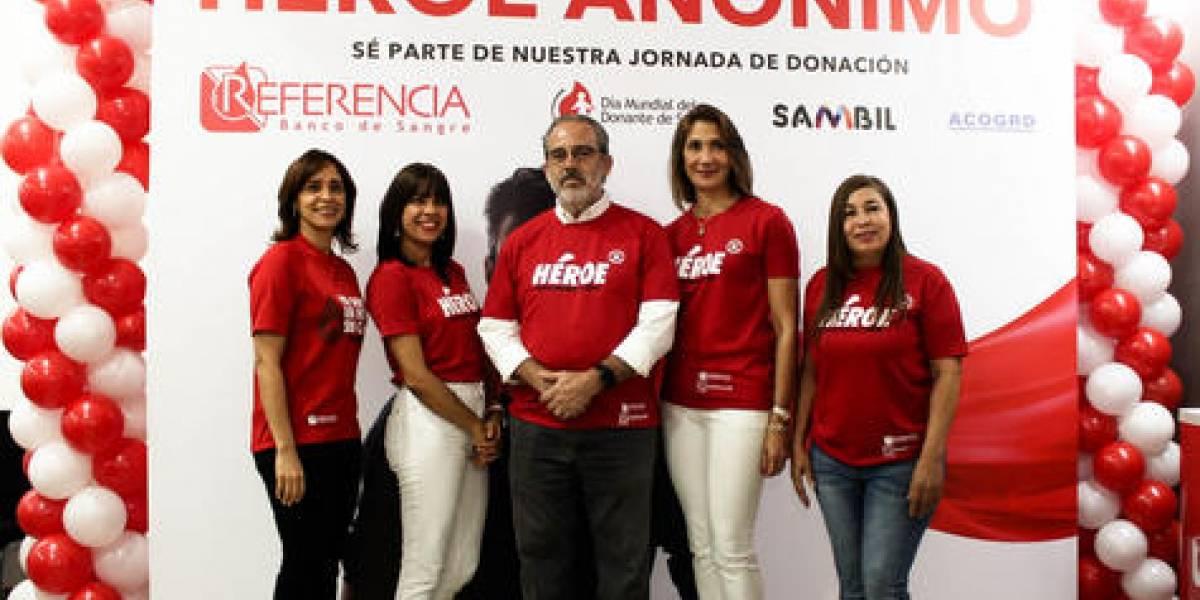 #TeVimosEn: Realizan actividades del Día Mundial del Donante de Sangre