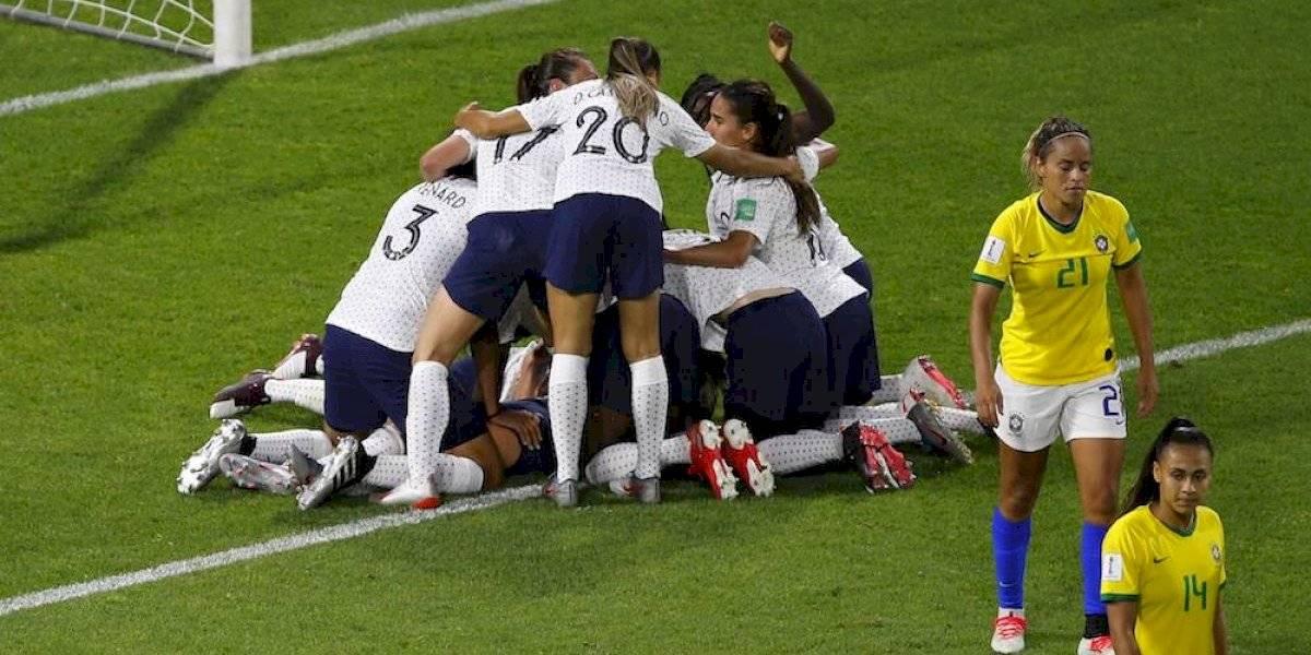 La anfitriona Francia elimina a Brasil en tiempos extra