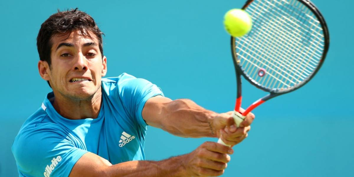 Cristian Garin no pudo ante Jeremy Chardy y cayó en dos sets en el ATP 250 de Bastad