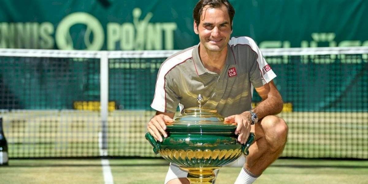 Su Majestad Roger Federer agiganta su leyenda y consigue su título 102º en el ATP de Halle