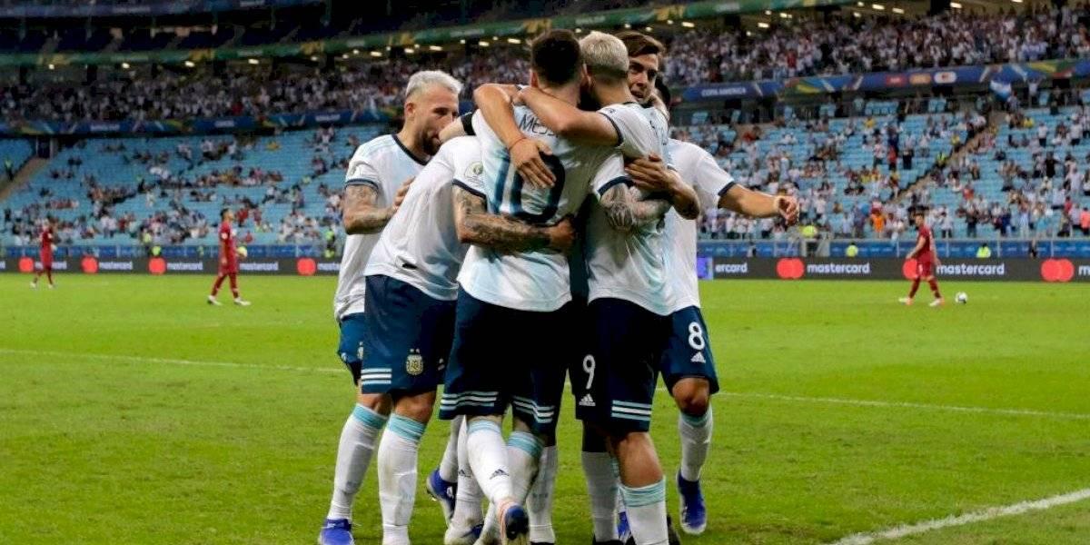 """""""Ahora Venezuela, ¿después Brasil?"""": La prensa argentina se agrandó tras la clasificación a cuartos de final de Copa América"""
