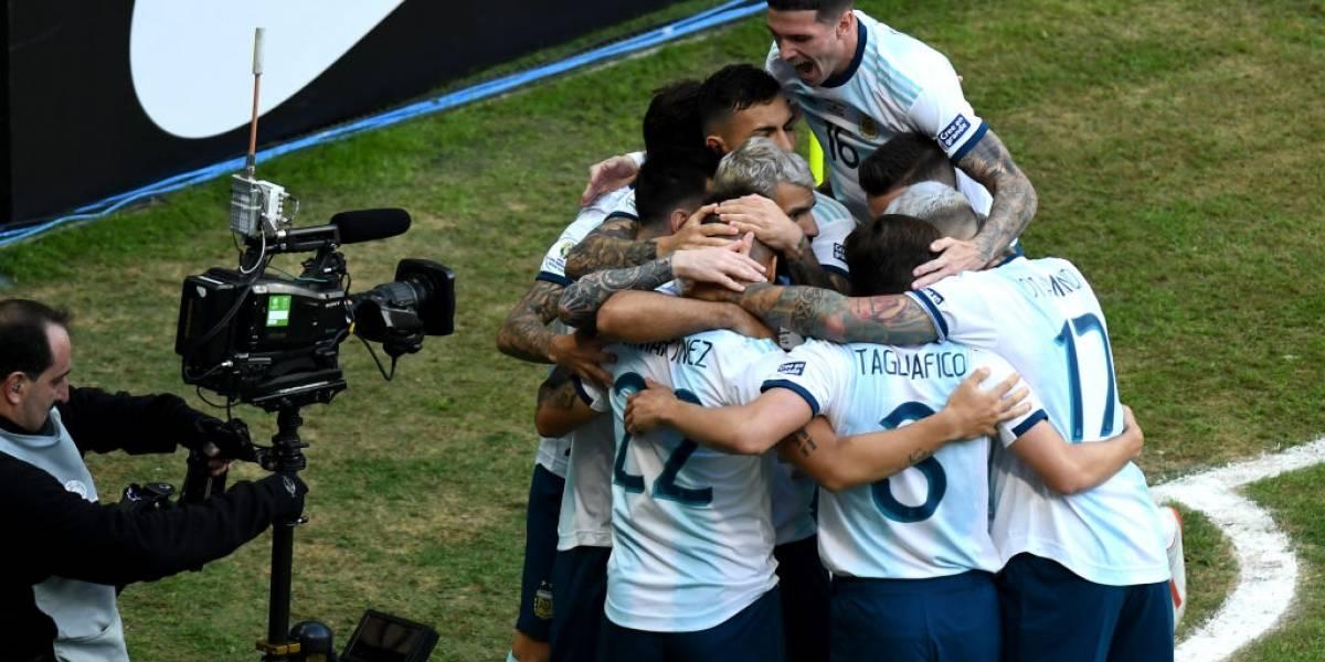 Así vivimos la sufrida clasificación de Argentina a cuartos de final de la Copa América 2019