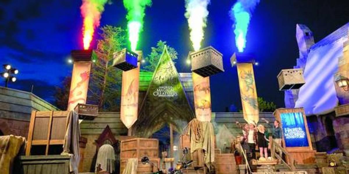 Hagrid de Harry Potter causa furor en Orlando
