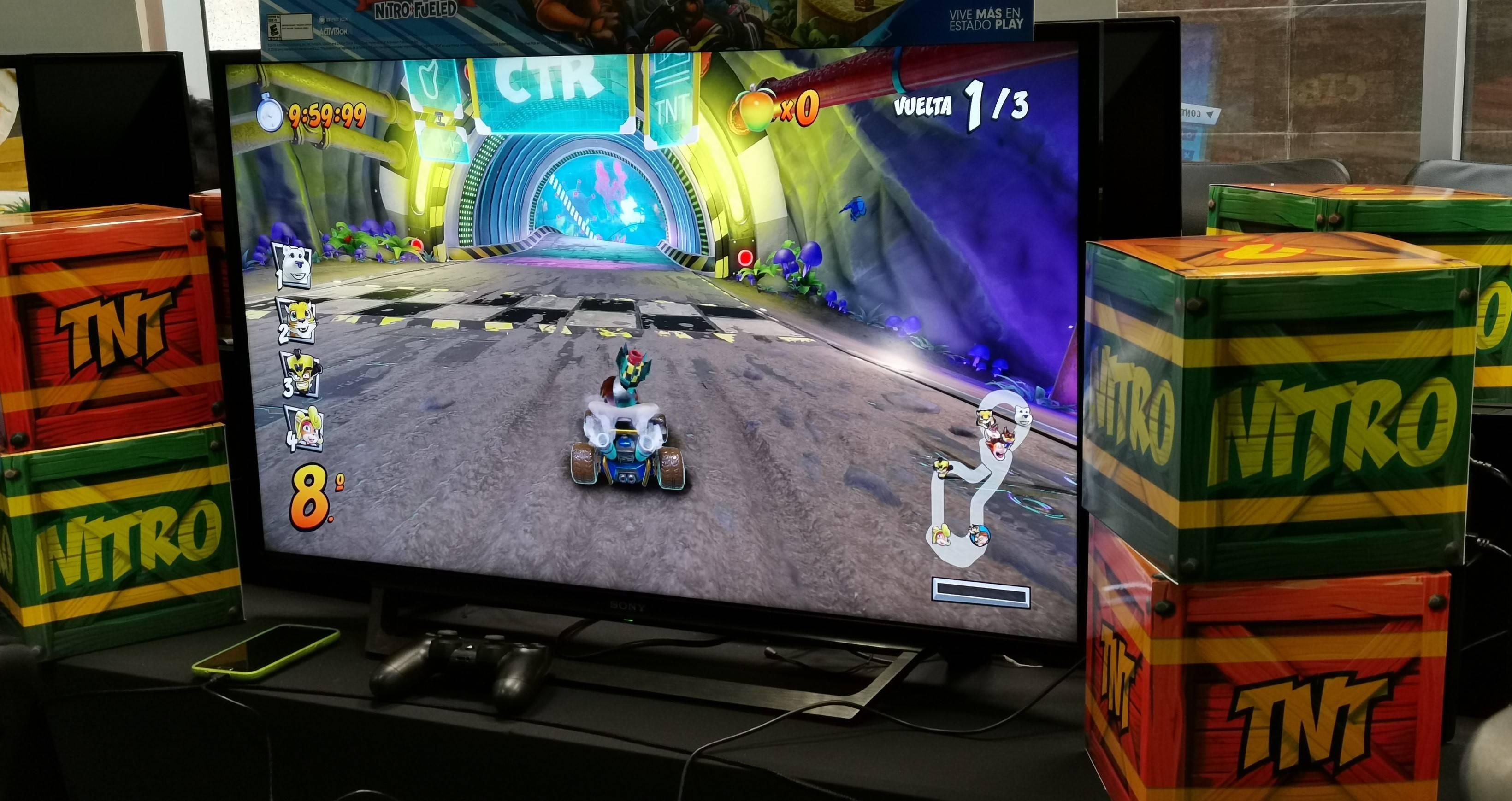 Estuvimos en el lanzamiento de Crash Team Racing Nitro-Fueled y estas fueron nuestras primeras impresiones