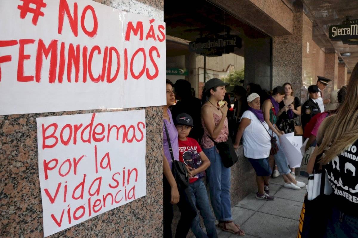 Ciudadanos han salido a las calles a exigir un alto a la violencia contra las mujeres Archivo