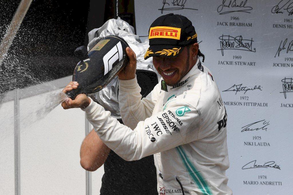 Lewis Hamilton Gran Premio Francia