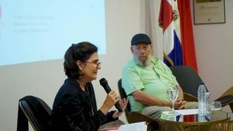 María Amalia León y Freddy Ginebra