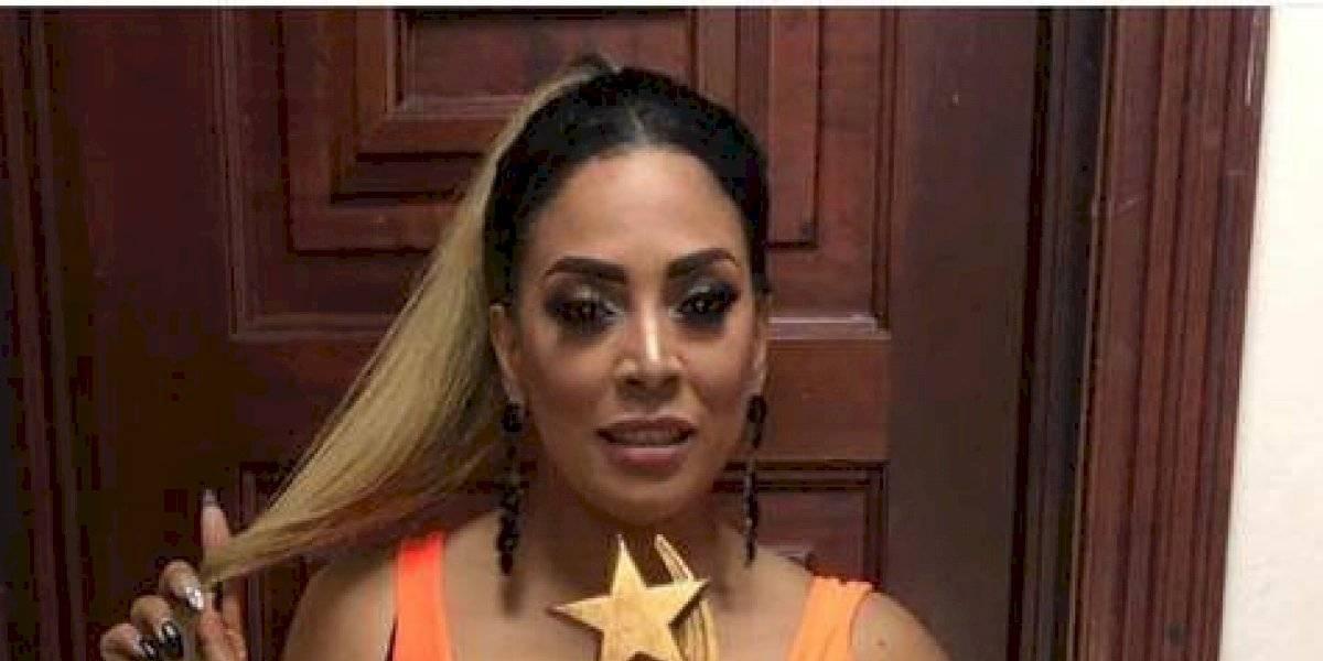 """Artista Marcel """"Piel morena"""" fue galardonada en Premios Estrella"""