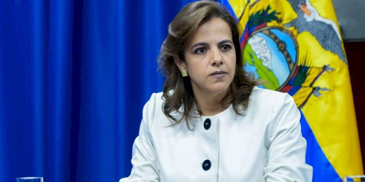 María Paula Romo reacciona a la amenaza de muerte sobre Jorge Glas