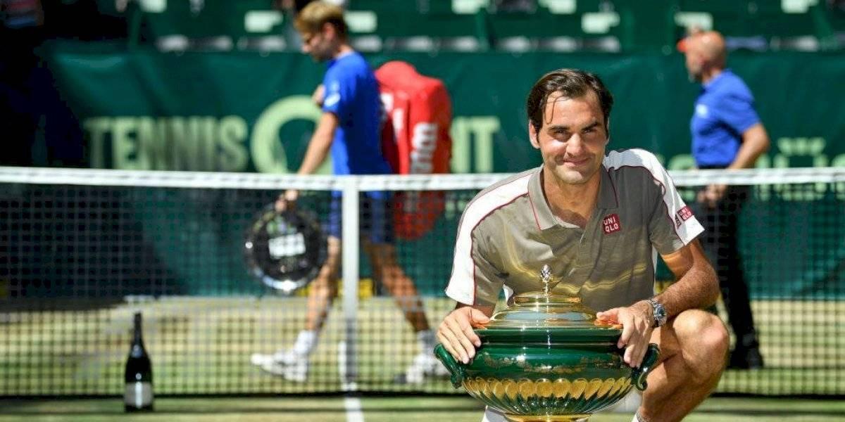 Roger Federer conquista su décimo título en Halle