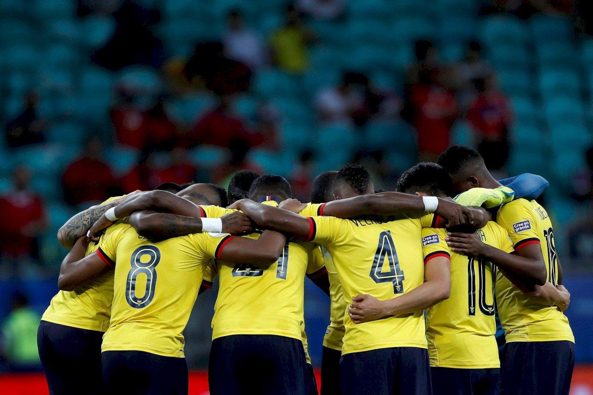 Selección ecuatoriana EFE