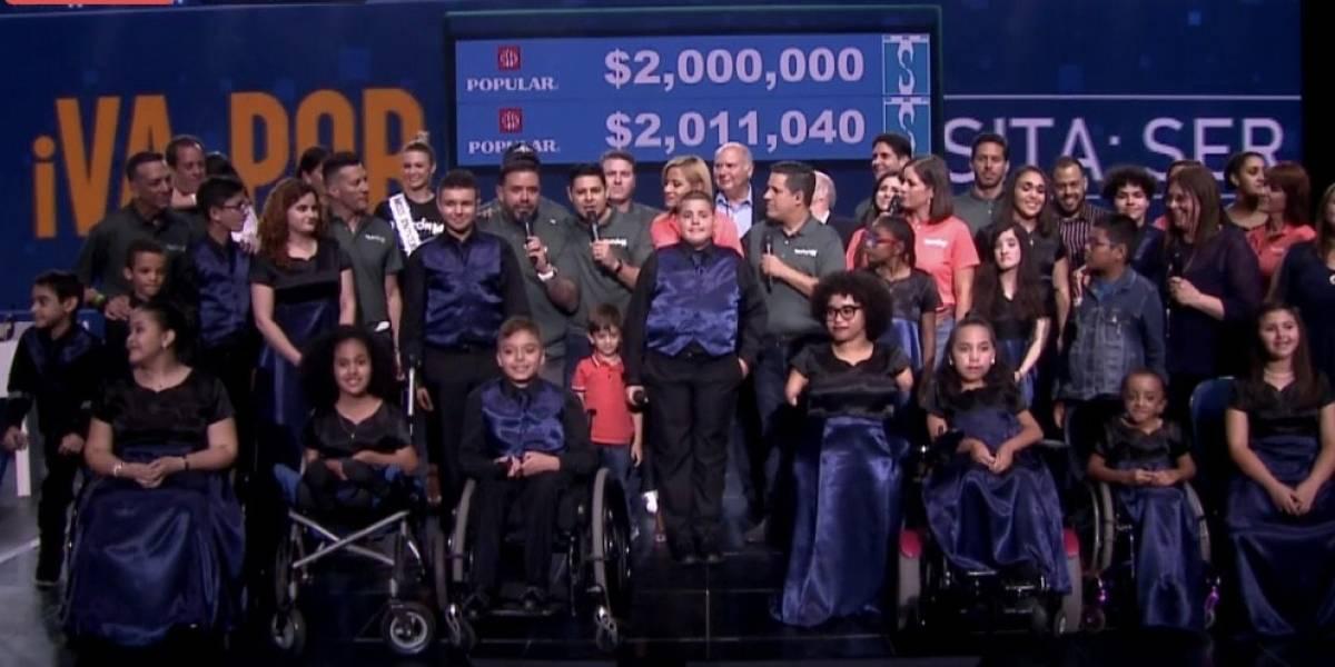 SER de Puerto Rico logra su meta en Teletón 2019
