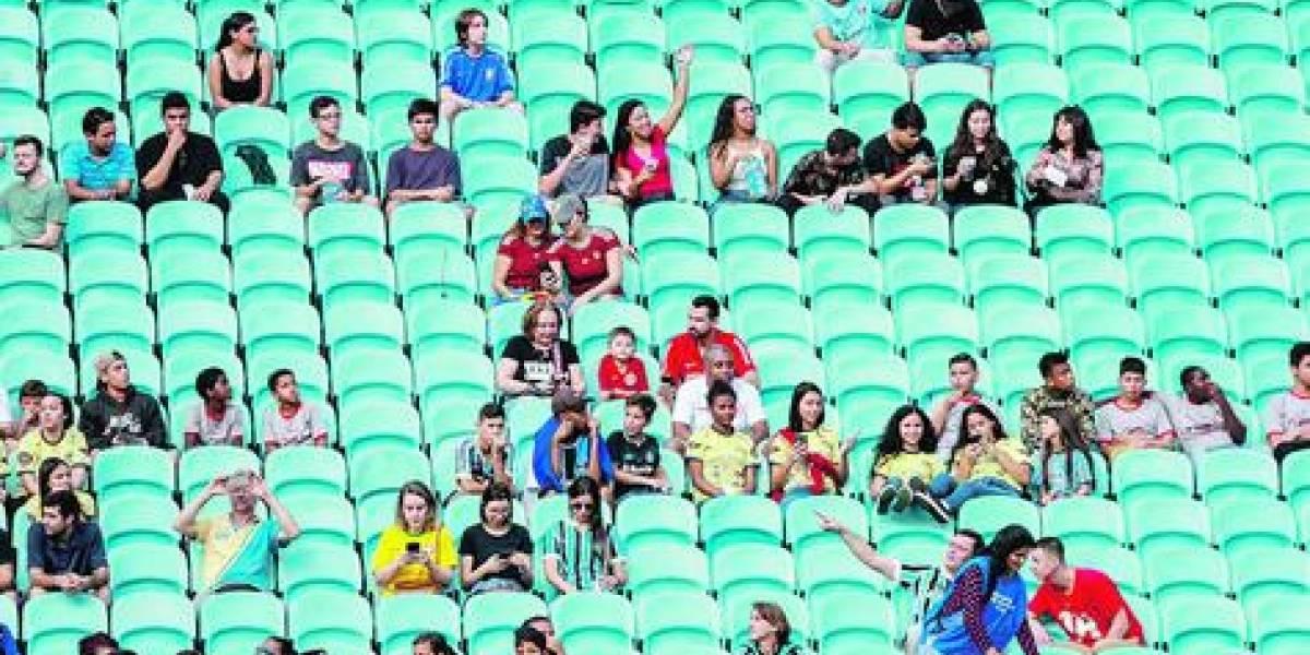 La Copa de los asientos vacíos en los estadios