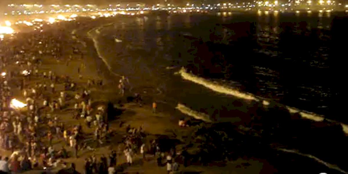 Sin incidentes reportados en la Noche de San Juan