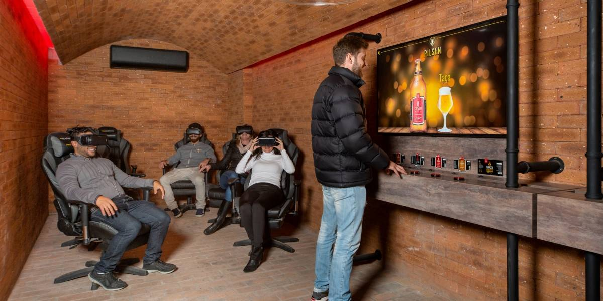 Gramado inaugura parque temático de cerveja com realidade virtual
