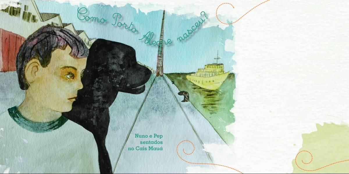 Autora faz 'vaquinha' para lançar livro infantil sobre arquitetura de Porto Alegre