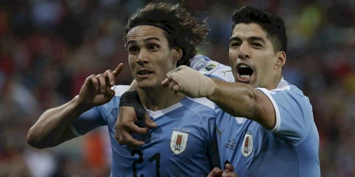 Uruguay amarra liderato de su grupo con triunfo sobre Chile