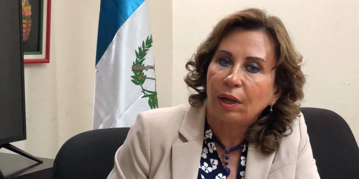 Sandra Torres envía duro mensaje a Presidente y señala que podría parar campaña