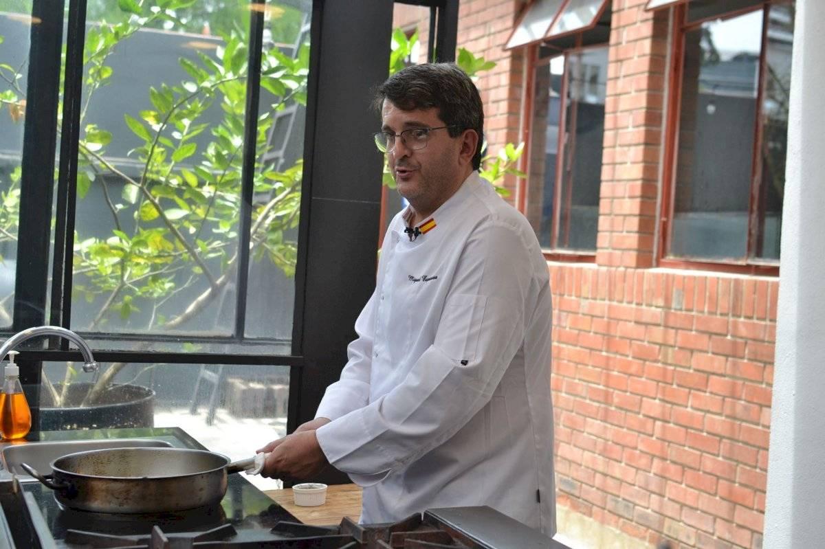 Chef Miguel Espinosa