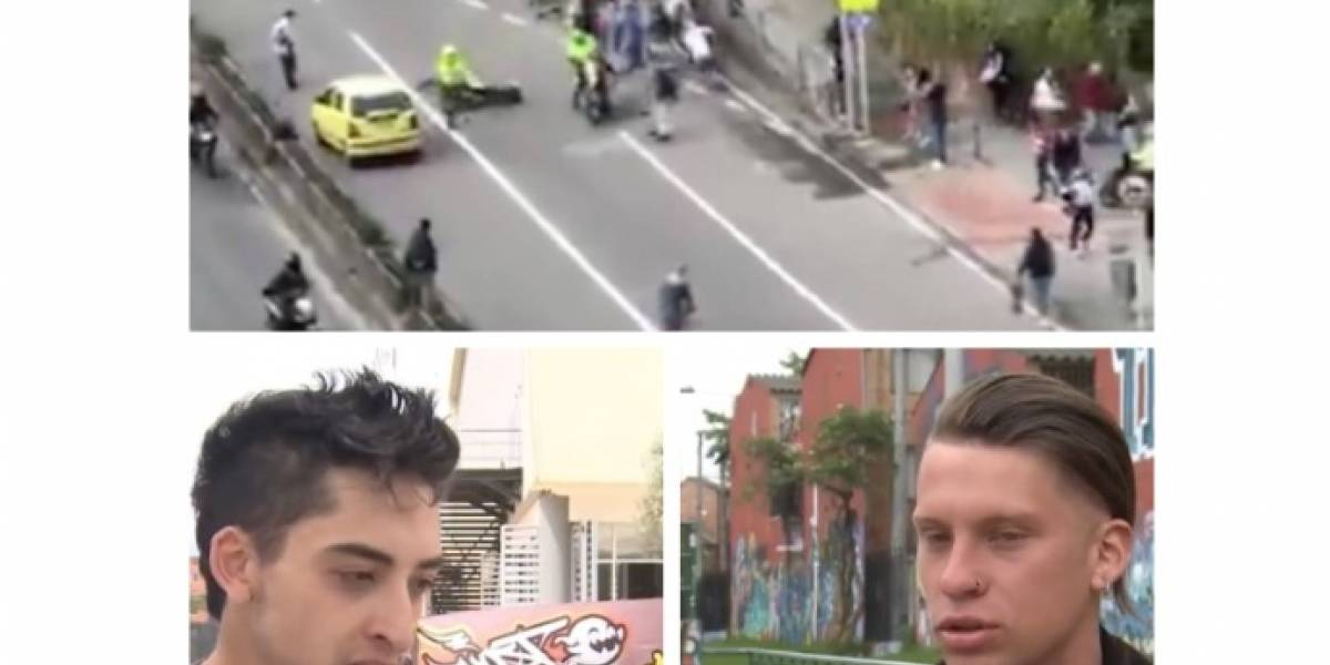 VIDEO: hablan los skaters agredidos por policías en Bogotá