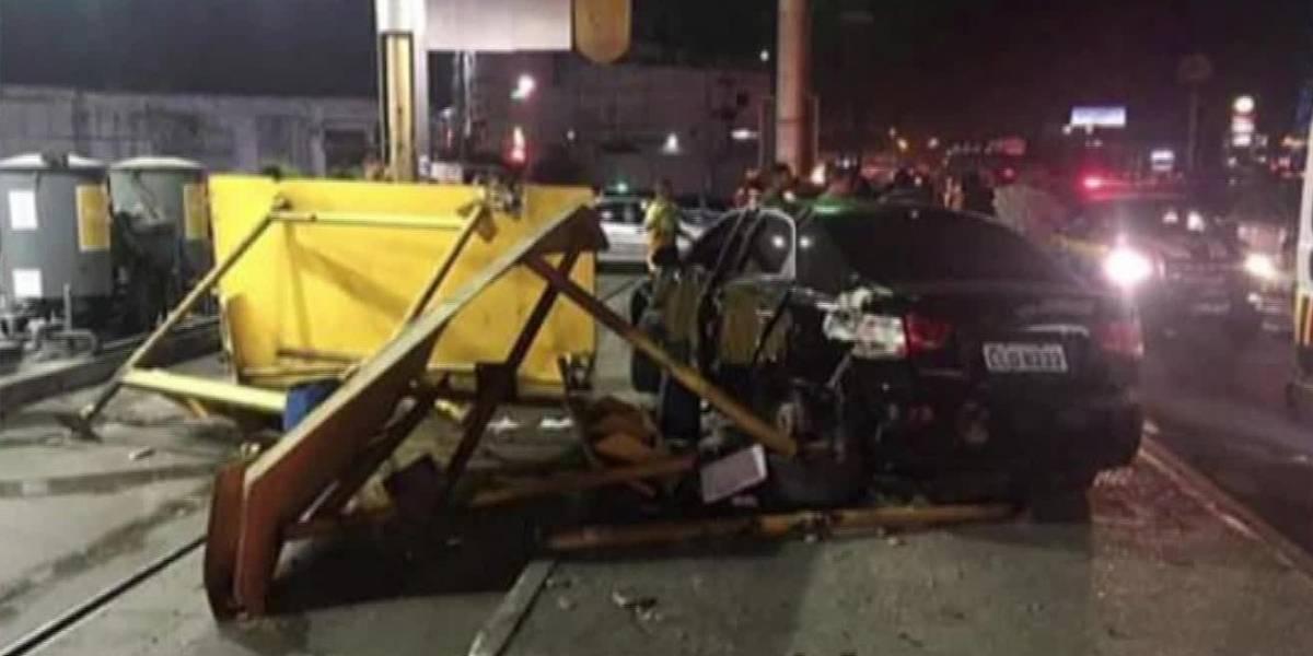 Cabo do Exército invade calçada e atropela seis pessoas na Baixada Fluminense