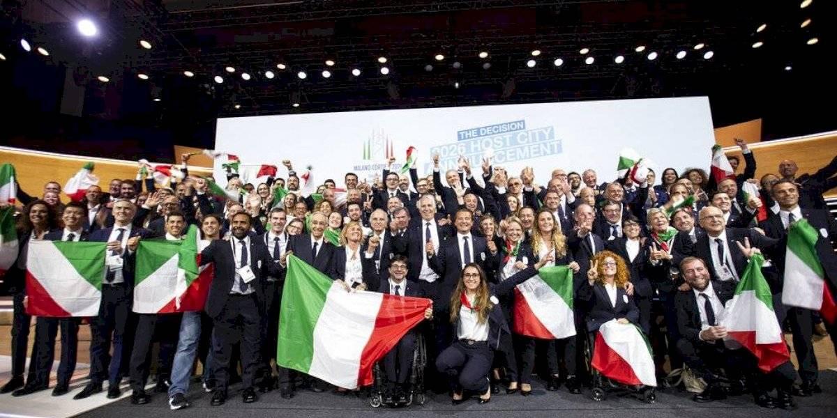 Escogen a Italia como sede Juegos Olímpicos de Invierno 2026