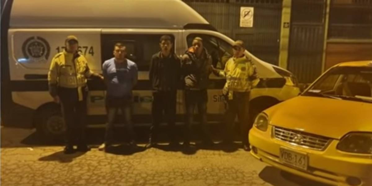 ¡Atención! Capturan banda de atracadores en TransMilenio