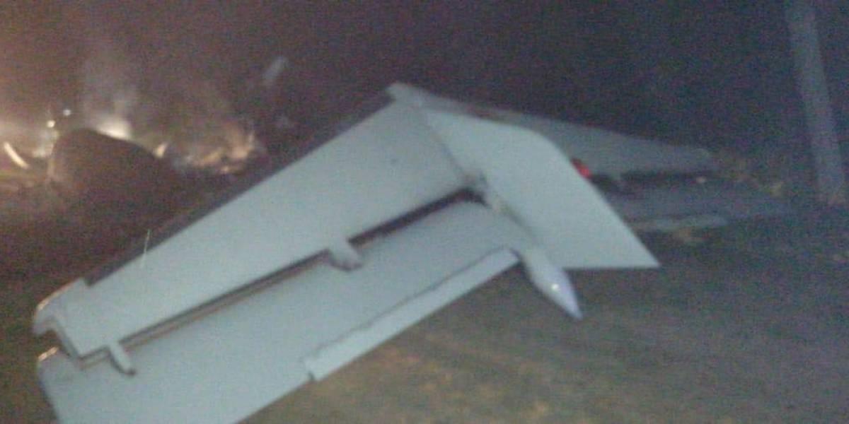 Ejército localiza avioneta y se enfrenta con presuntos narcotraficantes en Izabal