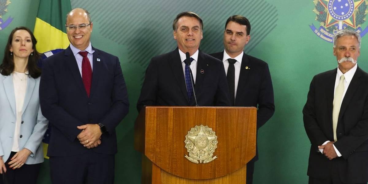 Bolsonaro está confiante em mudança da F1 para o Rio