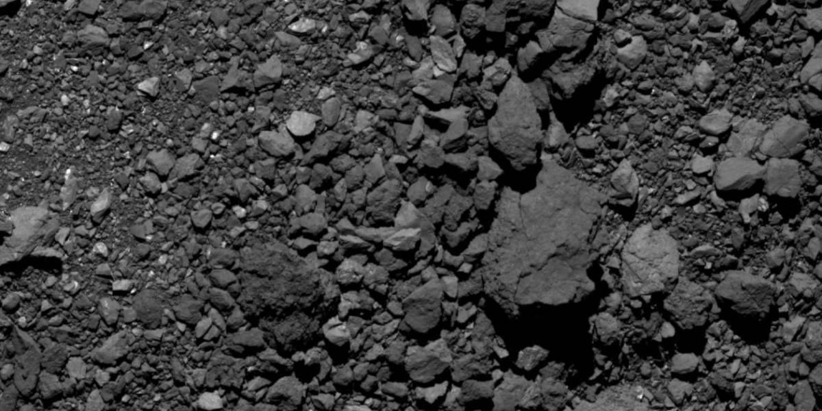 Agência Espacial divulga registro do asteroide Bennu em novo ângulo