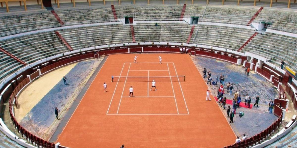 Plaza Belmonte se convertirá en una cancha de tenis