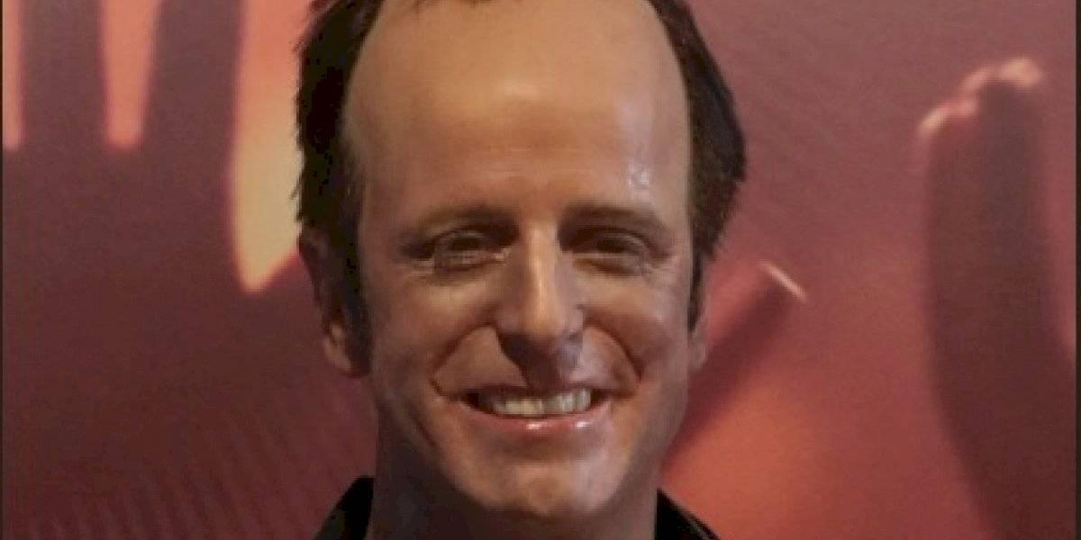"""""""Con la frente bien en alto"""": Stefan Kramer se toma con humor el aspecto de su réplica en el primer Museo de Cera de Chile"""
