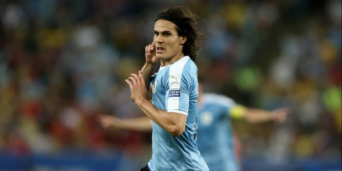 ¡Colombia ya tiene rival! Cavani se vistió de héroe y Uruguay venció a Chile sobre los minutos finales