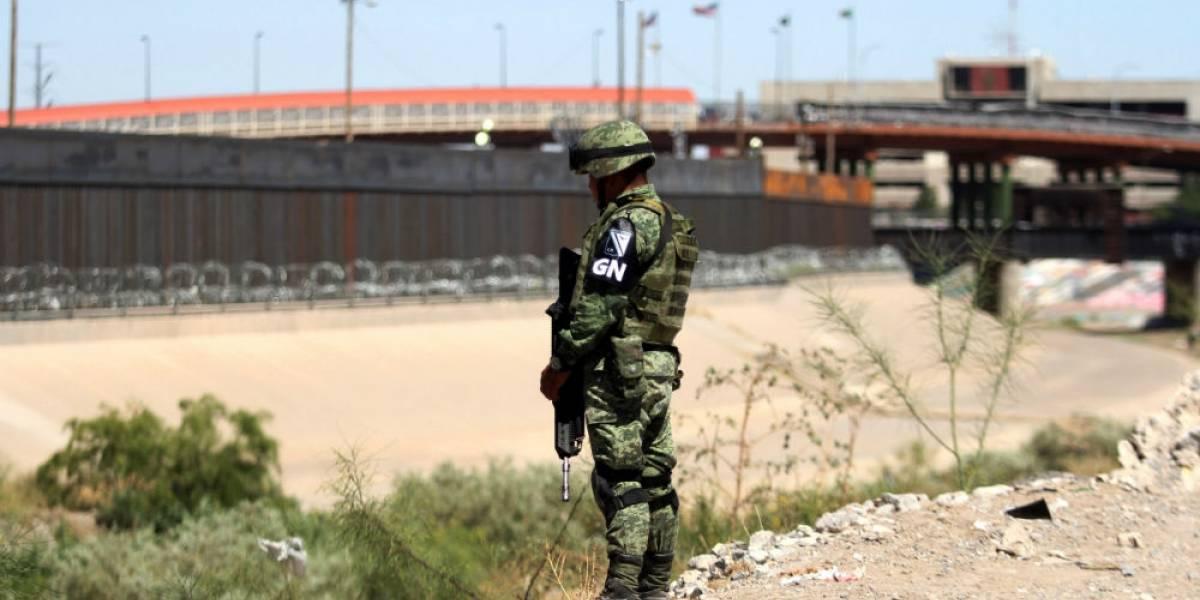 México envía 15 mil elementos a la frontera con EU