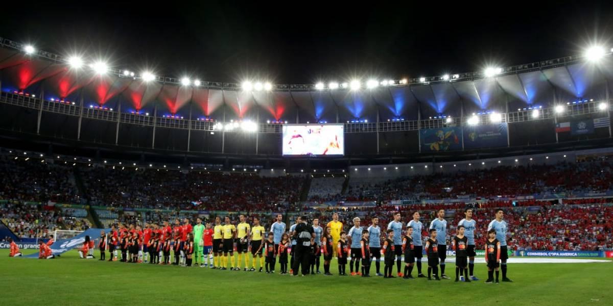 El partido Chile-Uruguay es el que llevó más gente en la Copa América Brasil 2019