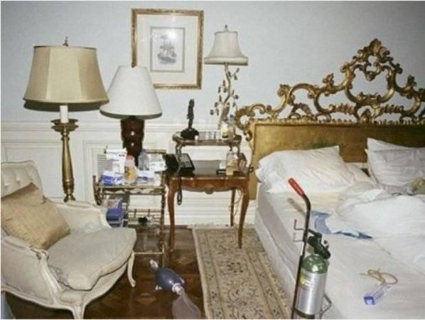 Habitación donde murió Michael Jackson
