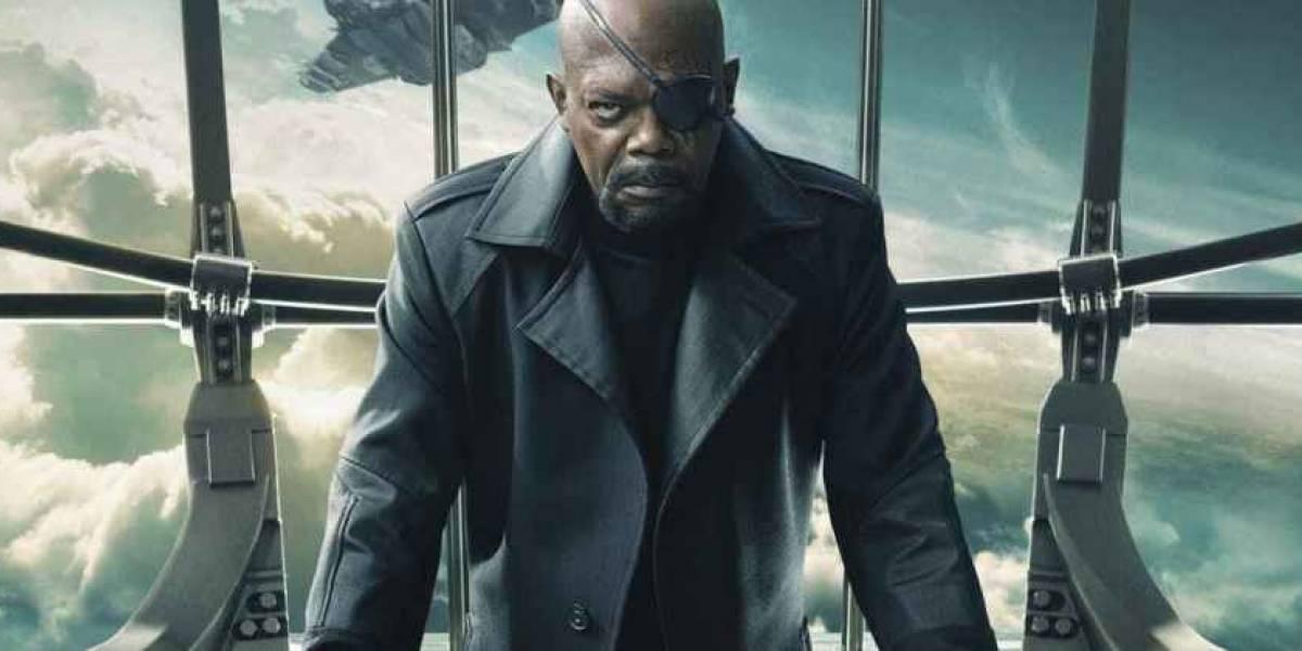 Samuel L. Jackson tira sarro de erro em cartaz de Homem-Aranha: 'Muthafukkah!'