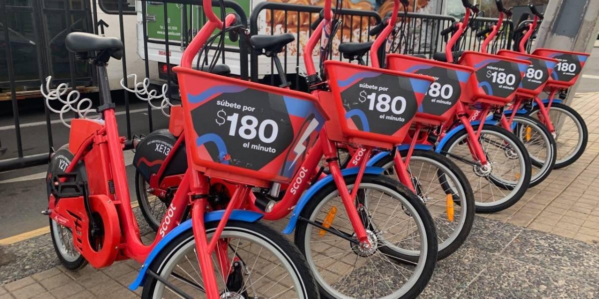 Probamos las nuevas bicicletas eléctricas de Scoot en Santiago